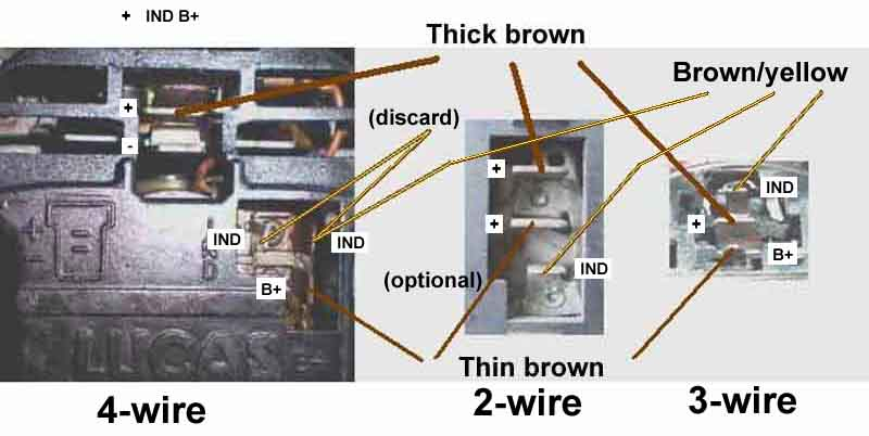 3 Wire Alternator Wiring Diagram Collection