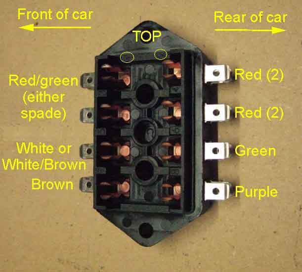 mgb fuse box schematic wiring diagram 1979 MGB Ignition Wire Diagram