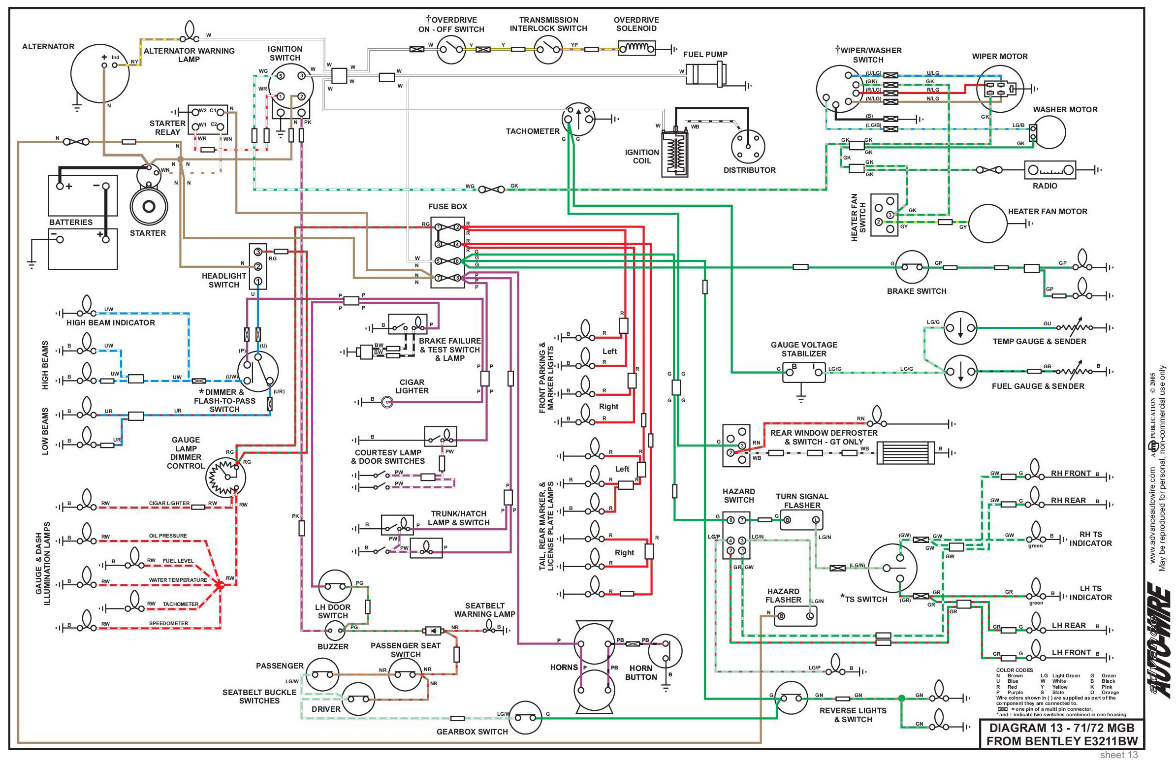 Here Is One Wiring Diagram For The Drivers Switch Door Module