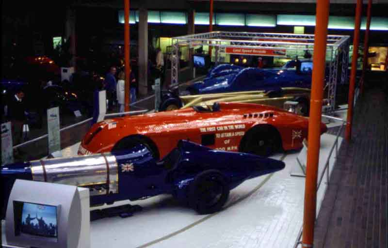 Land-speed record breakers at Beaulieu Motor Museum